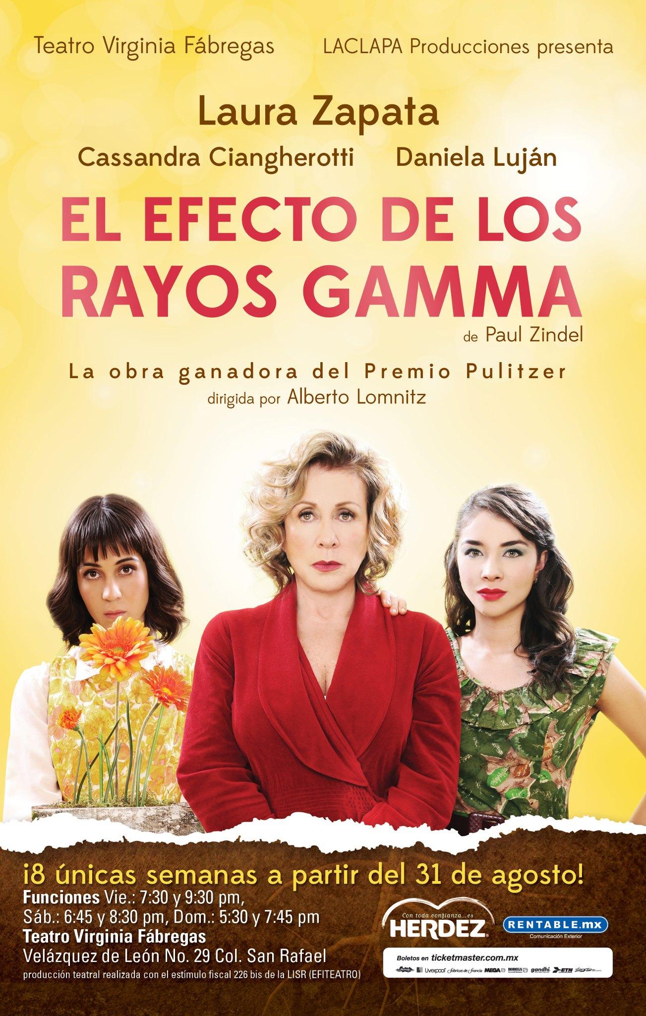 El efecto de los rayos gamma