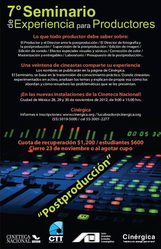 7SeminarioDeProductores - Cinérgica