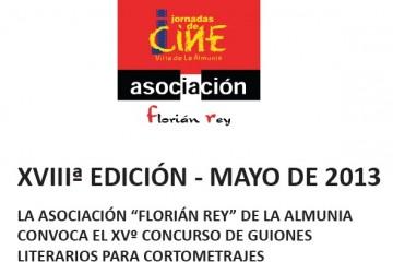 Florián Rey - Concurso de guiones 2013
