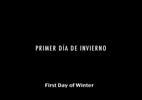 Primer Día de Invierno