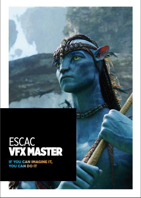 Máster en Visual Effects | ESCAC | imagen extraída del programa VFX para su difusión en esta página, respetando todos sus derechos de autor.