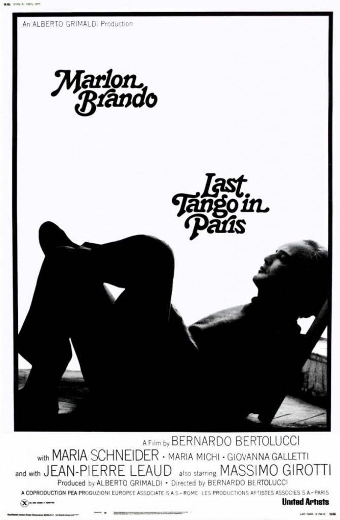 El Última Tango en París Afiche
