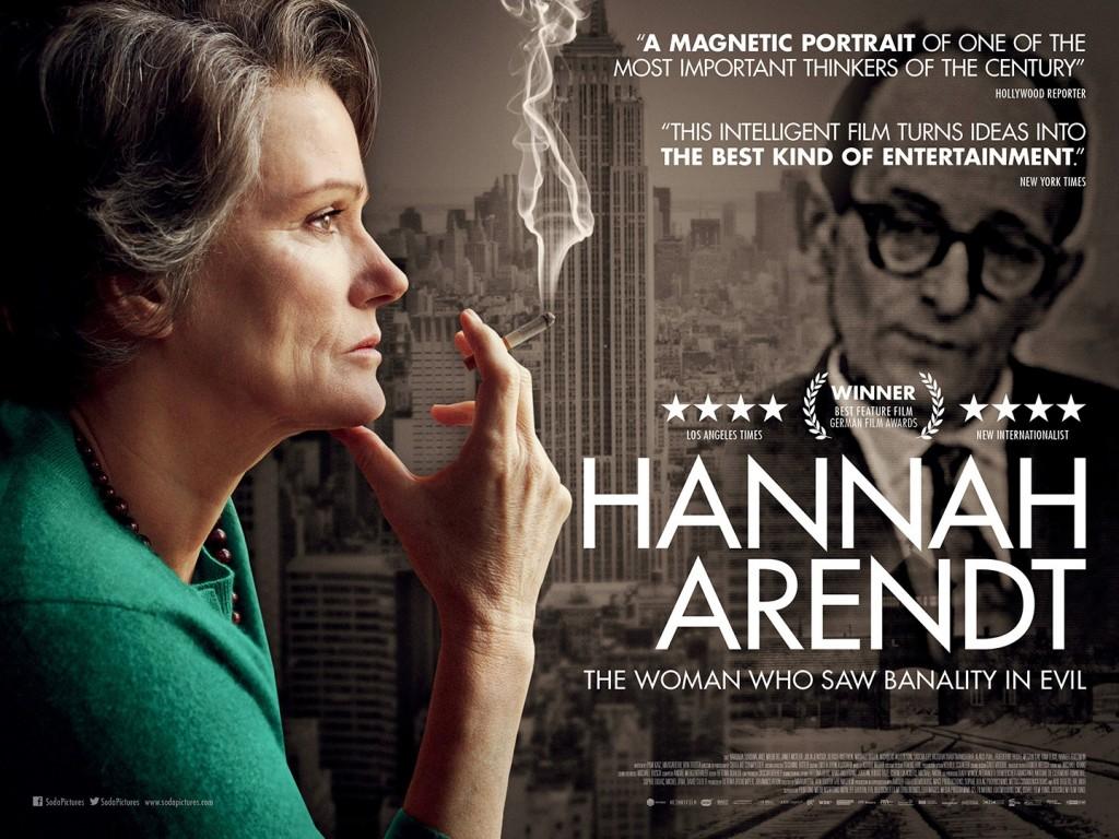 Afiche: Hannah Arendt