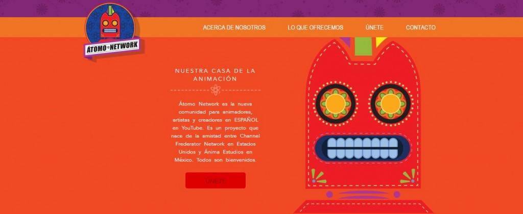 Vista de: http://atomonetwork.com/
