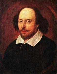 Imagen: William Shakespeare - Retrato Chandos - National Portrait  Gallery (Londres, Reino Unido)