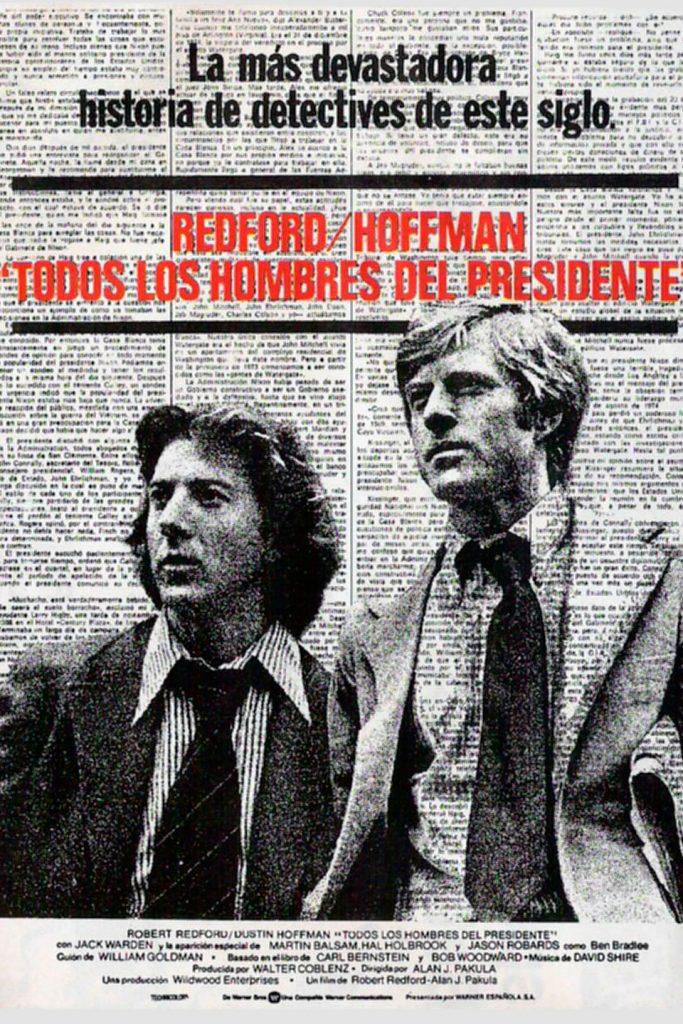 Afiche: Todos los hombres del Presidente