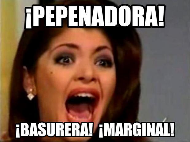 Soraya Montenegro: meme Telemundo